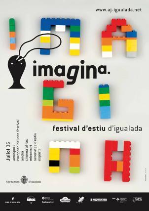 Cartell Imagina festival d'estiu d'Igualada, juliol 2005