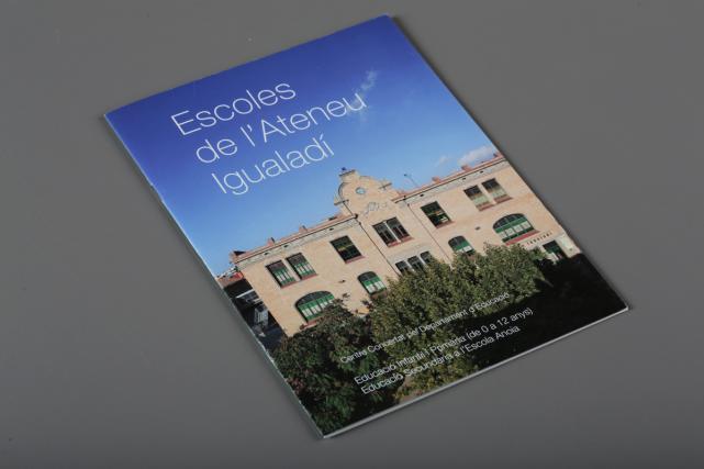 Llibret Escoles Ateneu Igualadí