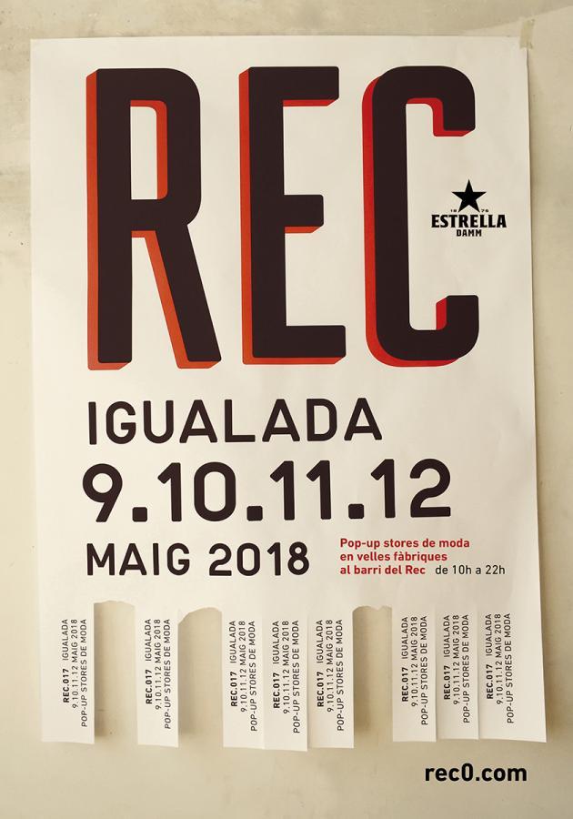 REC.017 Cartell maig. 2018