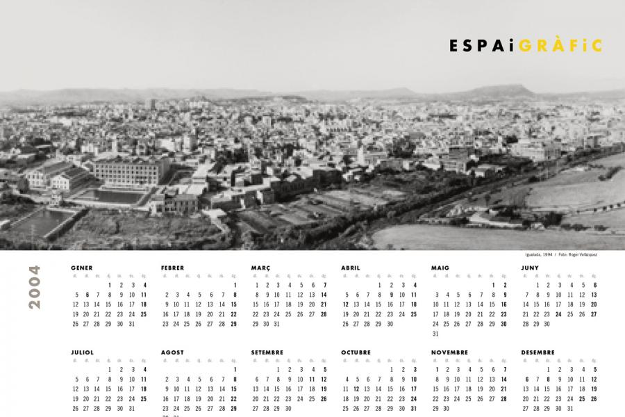 Calendari Espai Gràfic 2004