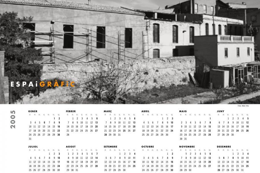 Calendari Espai Gràfic 2005