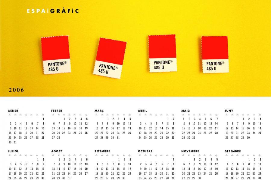 Calendari Espai Gràfic 2006