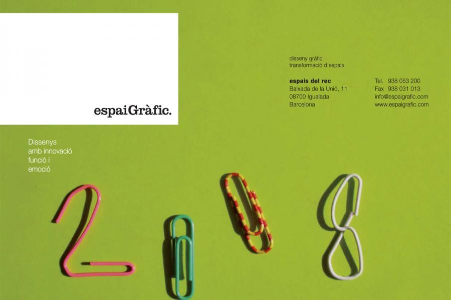 Calendari Espai Gràfic 2008