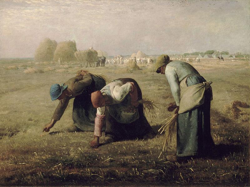 Les espigadores, 1857. Museu d'Orsay a París